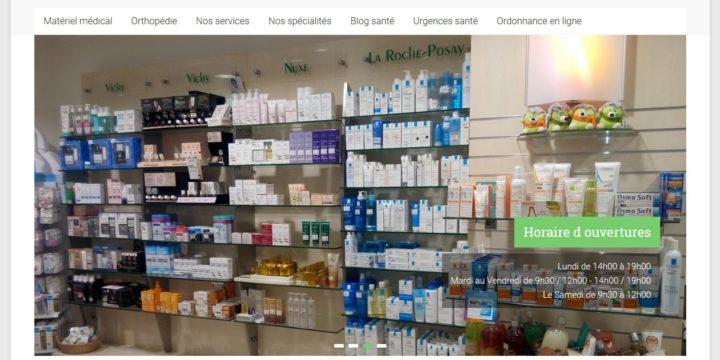 Refonte du site de la pharmacie Lefevre à Rethel
