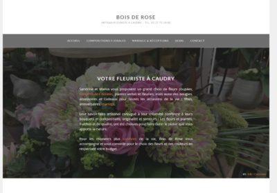 Bois de Rose – Artisan fleuriste à Caudry