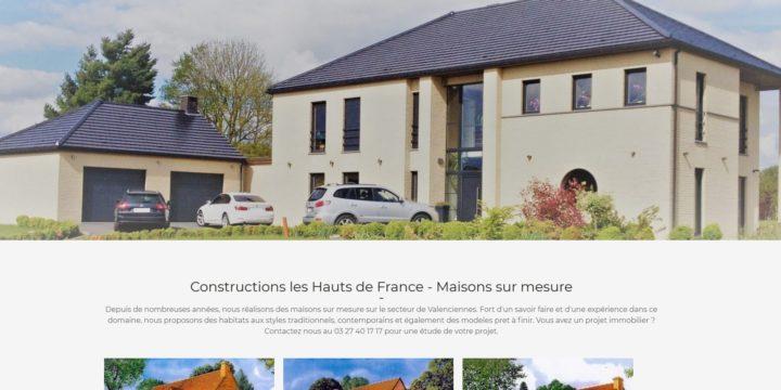 Refonte du site Internet de la société les résidences du Haut de France