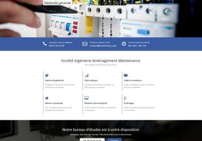 Refonte du site Internet de la société S.I.A.M France