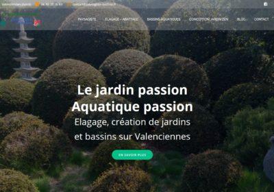 Refonte du site Internet de la société Le Jardin Passion Aquatique Passion