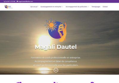 Création du site Internet magali-dautel.fr
